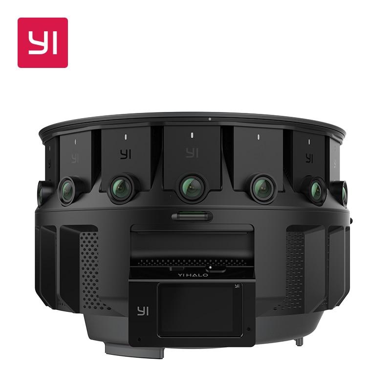 YI HALO VR Camera 3D 360 camera 5GHz Wi Fi 2.2 Inch LCD Touch Screen 100 Minutes Battery Life Ambarella Main Processor