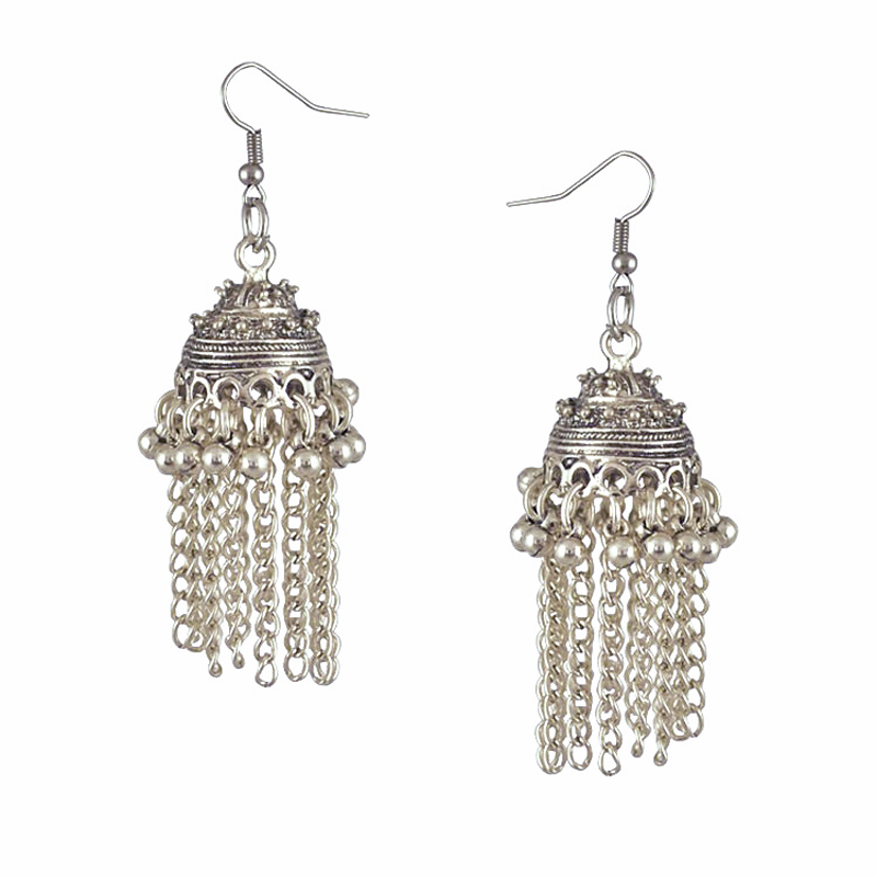 Noble Elegant Women Earrings 3 Colors Hollow Carving Butterflies Dangle Earrings