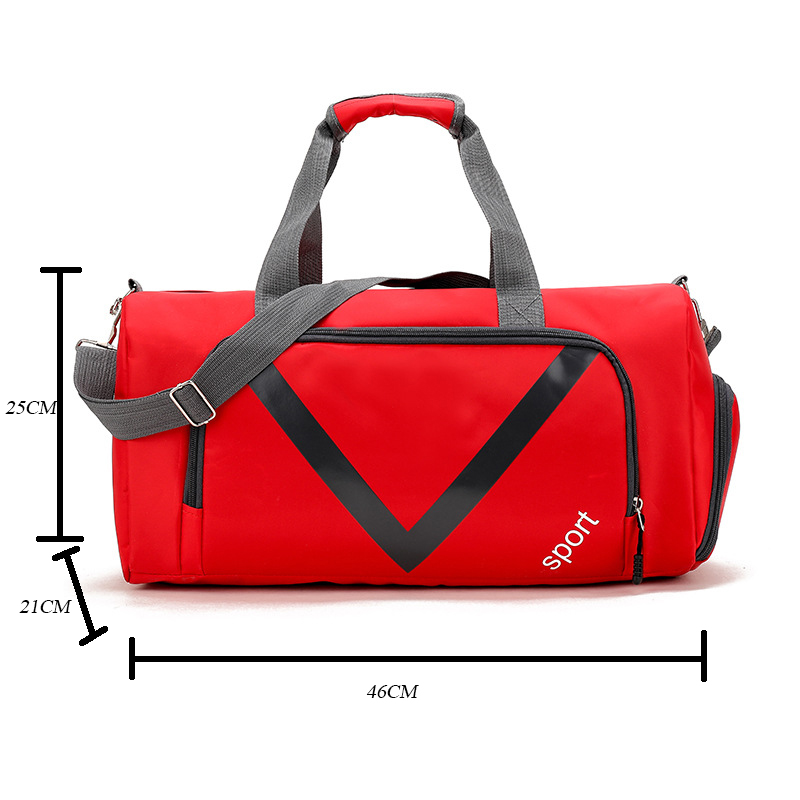 Gym Bag Waterproof Sports Bag Polyester Outdoor Men Women Large Capacity Packable Duffle Sports Bag Travel Backpack Z4