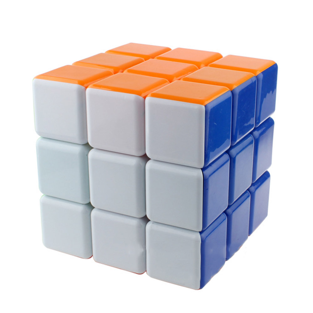 Super Grand 18 cm 3*3*3 Solide Couleur Magique Cubes Puzzle Vitesse Cube Jouets Éducatifs Cadeaux pour enfants Enfants
