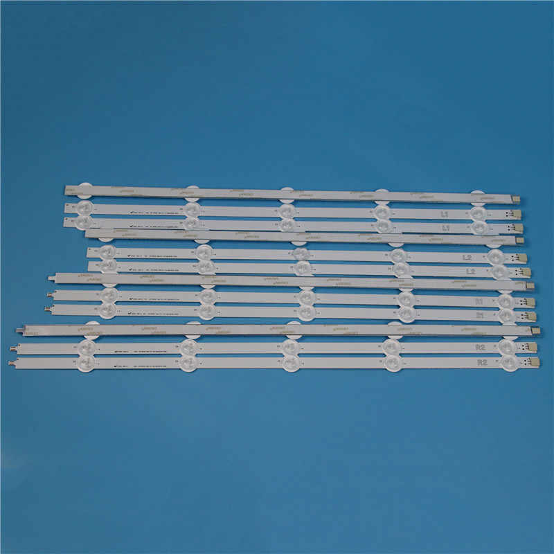 10 Lampen 1000Mm Led Backlight Strip Kit Voor Lg 50LN540B 50LN540R 50LN5406 50 Inch Tv Array Led Strips Backlight bars Licht Bands