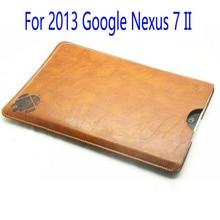 Caja Del Filtro de cuero Para El 2013 Nuevo Google Nexus 7 II