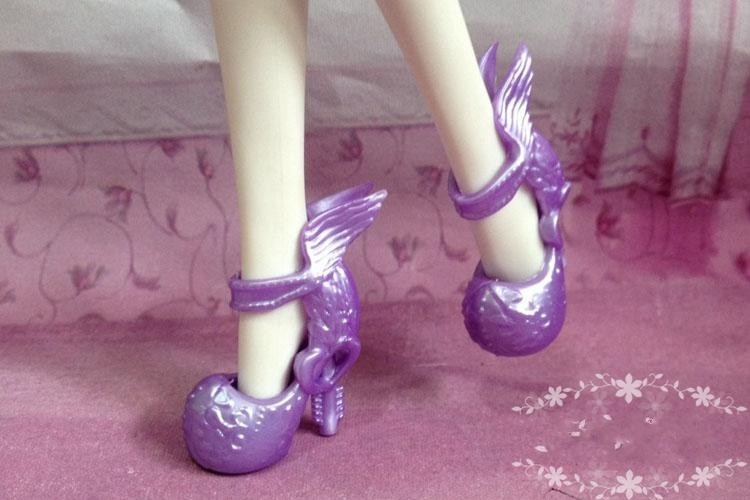 Wholsale 50 pairs/lot shoes for Monster High Original dolls,shoes for Ever High Dolls,doll's Accessories for monster high