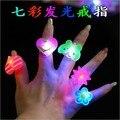 Перевозка груза падения свет палец кольцо, flash палец кольцо, прекрасный палец кольцо, 50 шт./лот