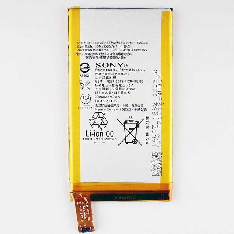 imágenes para Original C4 LIS1561ERPC Reemplazo Batería Del Teléfono Para SONY Xperia Z3 Compacto mini M55W D5833 SO-02G Auténtica Baterías 2600 mAh