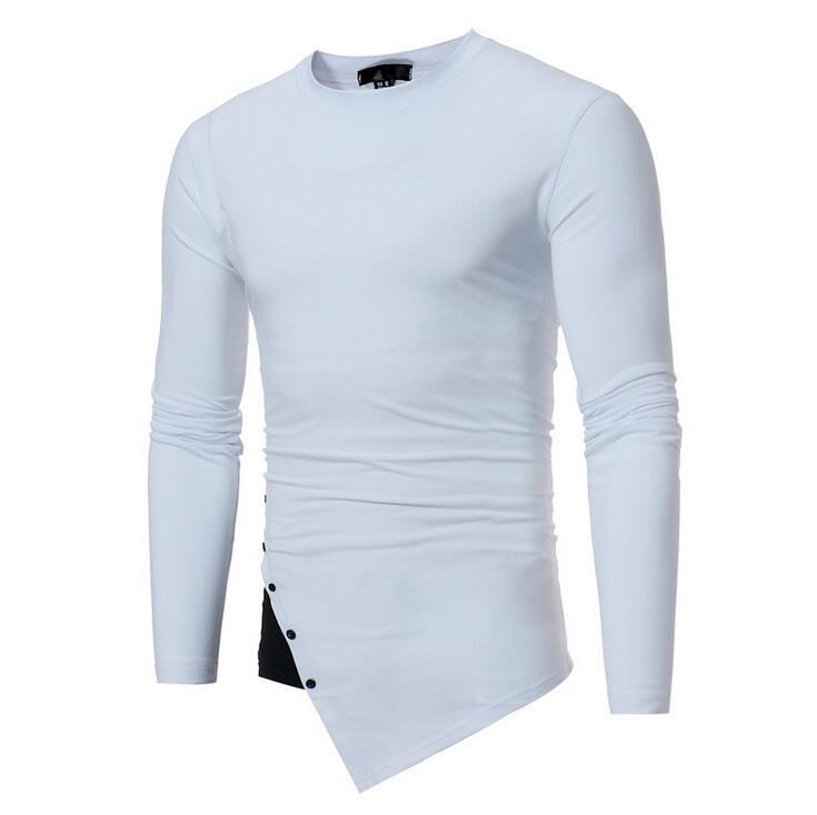 T shirt homme col rond uni