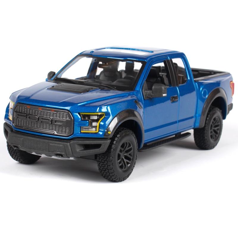 maisto 1 24 se truck off road 2017 ford f 150 f150 raptor pickup diecast model car toy new in. Black Bedroom Furniture Sets. Home Design Ideas