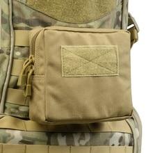 купить 2019 New 1000D Outdoor Military Tactical Waist Bag Multifunctional EDC Molle Tool Zipper Waist Pack Accessory Durable Belt Pouch по цене 240.23 рублей