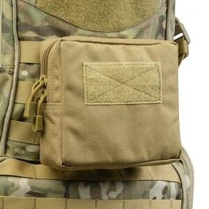 Image 1 - Sac de ceinture militaire tactique 1000D, pour lextérieur, outil EDC Molle, fermeture éclair, sac de ceinture pour accessoire, pochette Durable, nouveauté, 2019
