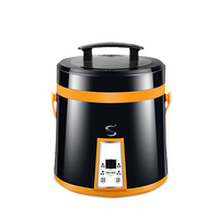 Rice cooker 3 people 4 people mini small dormitory cooking pot abroad 110V rice cooker 5 people 6 people multi function hou