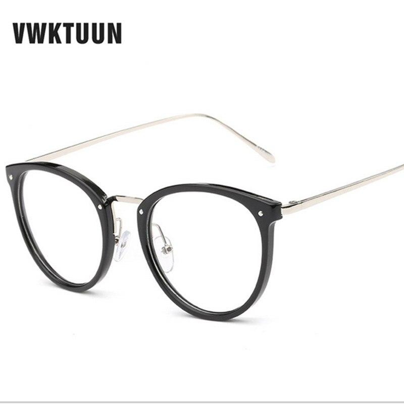 VWKTUUN Las gafas más nuevas Gafas de ojo de gato Montura Vintage - Accesorios para la ropa - foto 2