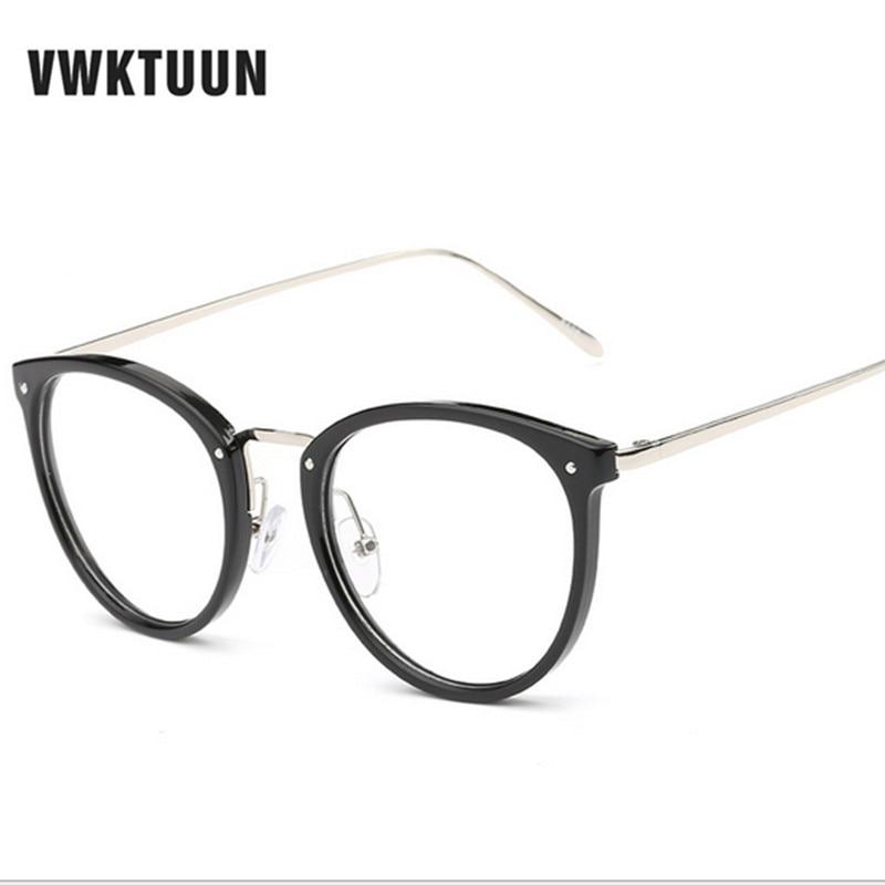 VWKTUUN Nyaste Glasögon Kattögon Glasögon Ramar Vintageglasögon - Kläder tillbehör - Foto 2