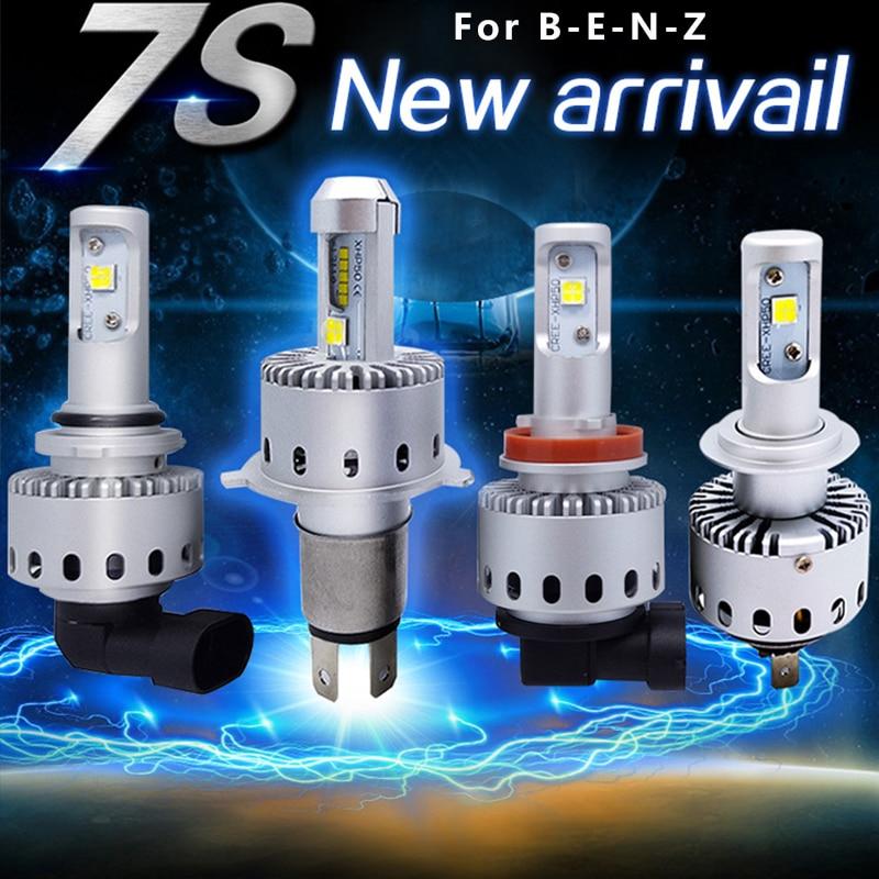 2Pcs 8000LM 12V 80W Car LED Headlight Auto LED Head Bulb HI LO Beam HeadLamp W211
