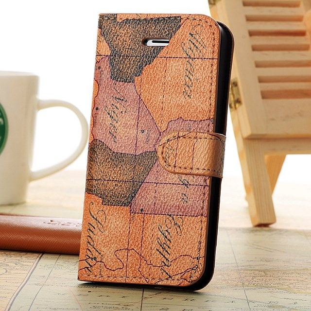 For iphone 5 s 5s se flip cover world map pu leather case wallet for iphone 5 s 5s se flip cover world map pu leather case wallet phone bag gumiabroncs Gallery