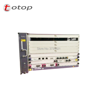 Original Huawei MA5683T olt Fttb/Ftto/Ftth GPON OLT classis with 2x SCUN 2x PRTE 2x X2CS Without service Board