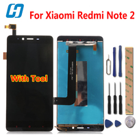 Xiaomi Redmi Note 2 LCD Display Touch Screen Digitizer Glass Panel Replacement For Xiaomi Redmi Note