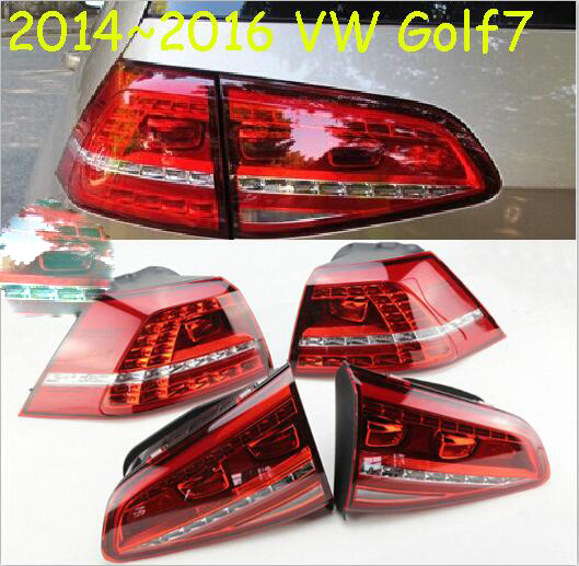 Golf7 taillight,2014~2016year,LED,Free ship!ouareg,sharan,Golf6,routan,polo,passat,magotan,jetta,vento,Golf7 rear lamp tiguan taillight 2017 2018year led free ship ouareg sharan golf7 routan saveiro polo passat magotan jetta vento tiguan rear lamp