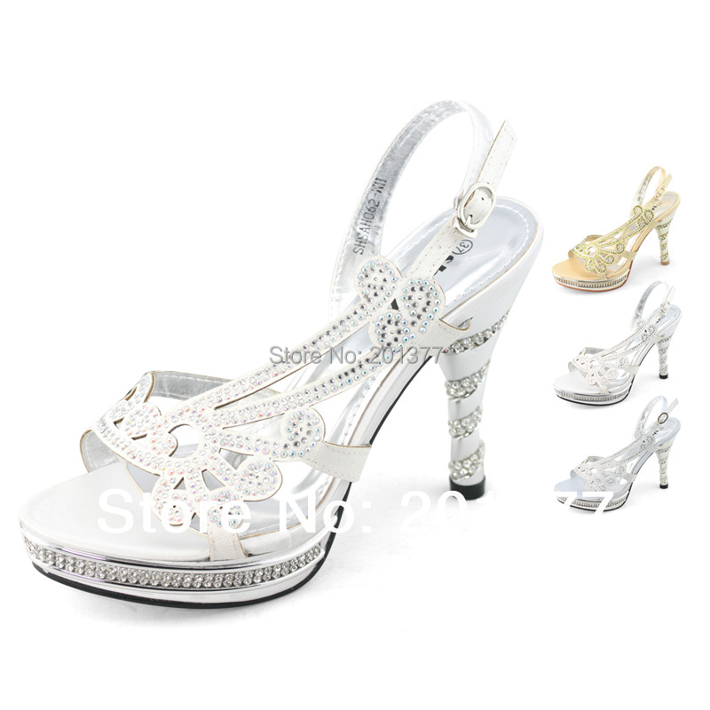 Aliexpress.com : Buy SHOEZY 2014 New Ladies Silver White Gold