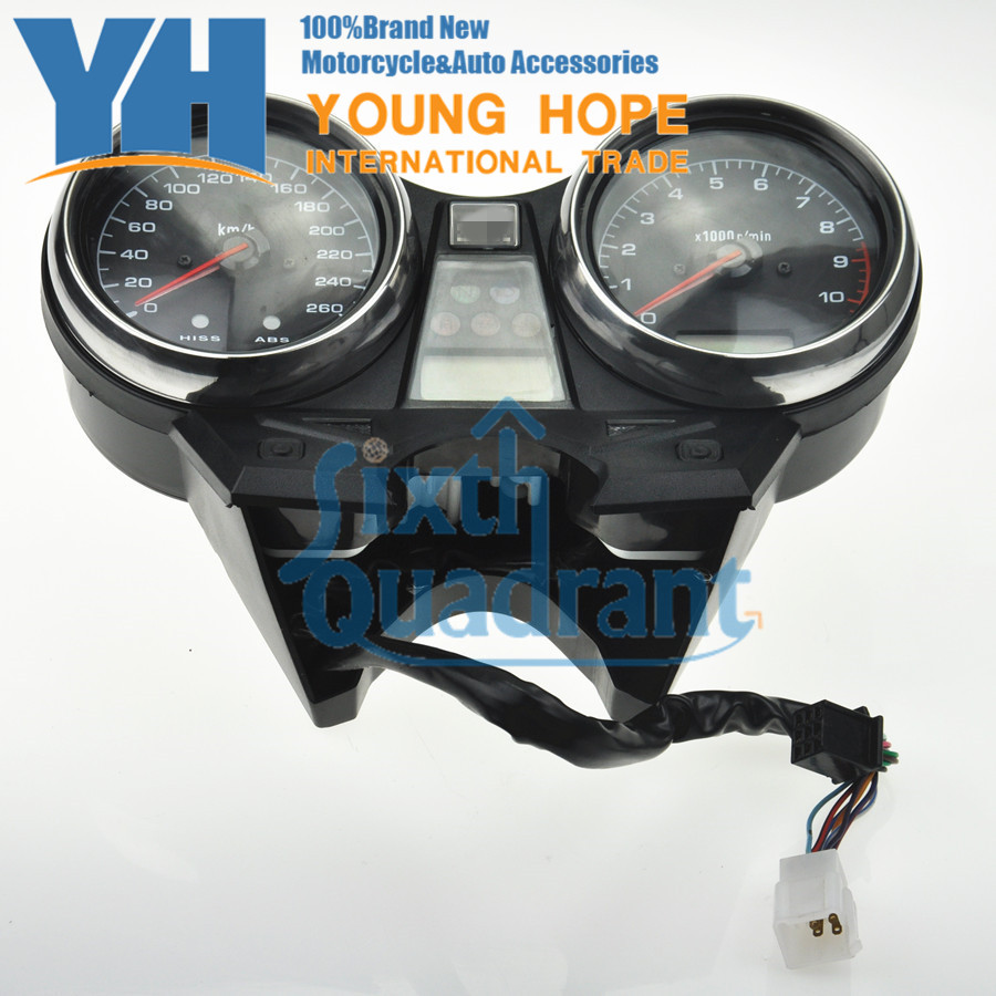 Free Shipping Motorcycle Speedometer Odometer Tachometer Dashboard For Honda CB1300 2003 2004 2005 2006 2007 2008 Custom NEW aftermarket free shipping motorcycle parts custom aluminium cluctch cover for 2004 2005 2006 2007 honda cbr 1000rr black