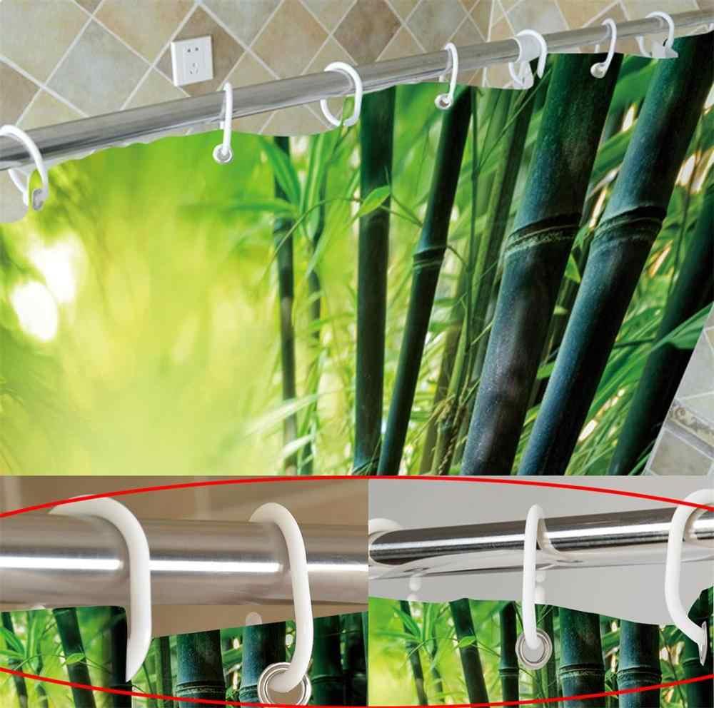 72 ''łazienka wodoodporna tkanina zasłona prysznicowa poliester 12 haki kąpiel akcesoria zestawy życie jest dobre na plaży na morze bay Mountain
