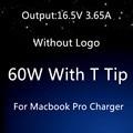 "Boa Qualidade Para a apple magsafe 2 60 W 16.5 V 3.65A T ponta laptop charger power adapter Para Macbook pro 13 ""A1435 A1465 A1425 A1502"