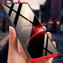 360 coque de protection complète pour MI 9T Pro rouge mi K20 Pro housse de téléphone 3 en 1 plastique mat coque arrière rigide pour K30 Note 10 8 Pro Mi 10
