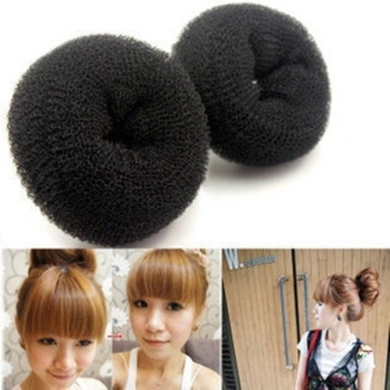3 Sizes Hair Styling Ring Style Dispenser Buns Head Tool Hair Ring Hair Accessories for Women