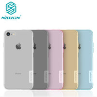 For Apple Iphone 7 NILLKIN Ultra Thin Transparent Nature TPU Case For For Iphone 7 4