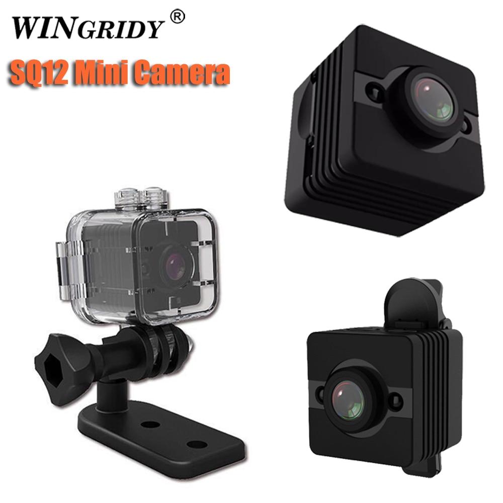 Original Mini Cam Kamera SQ12 SQ11 VOLLE HD 1080 p Wasserdichte Shell CMOS Sensor Nachtsicht Recorder Camcorder Micro Pk SQ13 C
