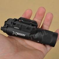 TGPUL Тактический X300V-IR пистолет с фонариком ИК свет оружейный фонарь светодиодный 500 люмен пистолет для страйкбола, охоты, стрельбы X300 серии