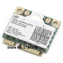 SSEA новая Половина мини PCI-E Двухдиапазонная 2,4G/5 ГГц Wlan Беспроводная карта для Intel Advanced-N 6205 802.11a/b/g/n 62205AN_HMWG 300 Мбит/с