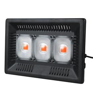 Image 1 - LED לגדול אור ספקטרום מלא פיטו מנורת לצמחים 220V 110V 100W 200W 300W עמיד למים fitolamp עבור מקורה חממה הידרופוני