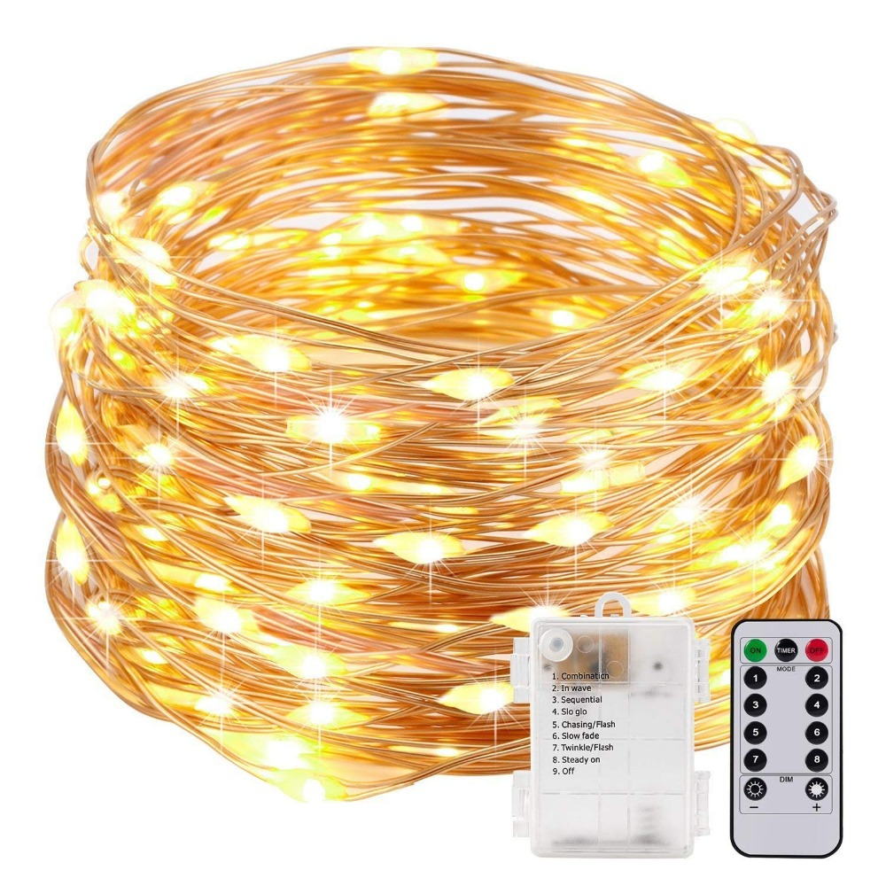 Fully Waterproof Led Christmas Garland Fairy Lights