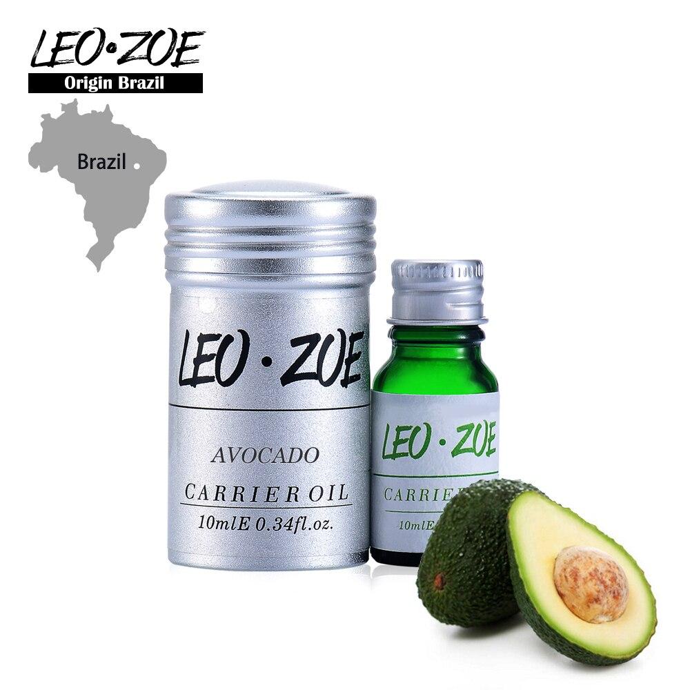 Pure Avocado Oil Famous Brand LEOZOE Certificat de Origine Brazilia Autentificare Avocado Essential Oil de înaltă calitate 10ML