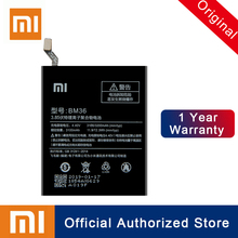 Xiao Mi 100% Original BM36 Replacement Battery For Xiaomi Mi 5S MI5S 3200mAh Real Capacity Rechargeable Phone Batteria Akku xiao mi bm22 battery for xiaomi 5 mi5 m5 prime batterie 100% original 2900mah real capacity phone replacement batteria akku