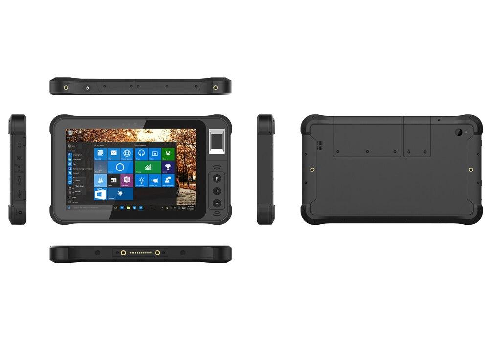 "Купить с кэшбэком Original Kcosit K75 Rugged Windows Tablet PC Fingerprint Reader UHF RFID IP67 Waterproof 7"" 1280x800 HDMI 2D Barcode Scanner PDA"