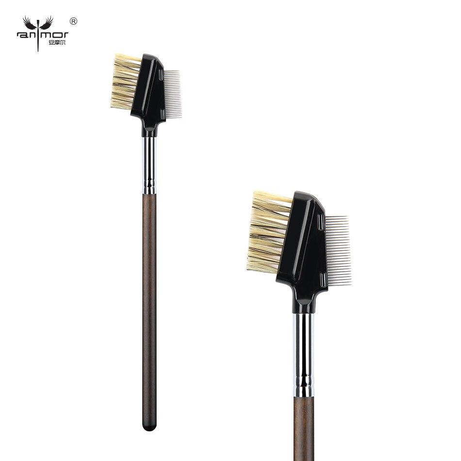 Anmor Brand Steel needle Eyelash Brush Professional Makeup Brushes Synthetic Make Up Brush D019