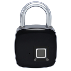 P3 P3 + inteligentna elektroniczna blokada z czytnikiem linii papilarnych IP65 wodoodporna ochrona przed kradzieżą cyfrowa kłódka Bluetooth zamek do drzwi z czytnikiem linii papilarnych