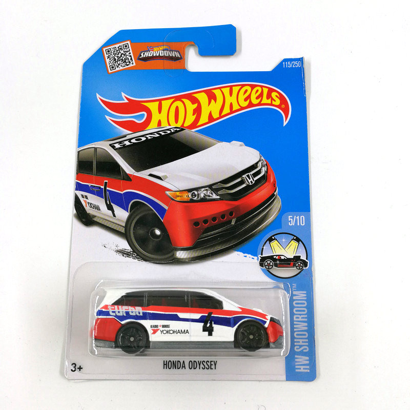 2016 Hot Wheels 1:64 Car HONDA ODYSSEY Collector Edition Metal Diecast Cars Collection Kids Toys Vehicle For Gift