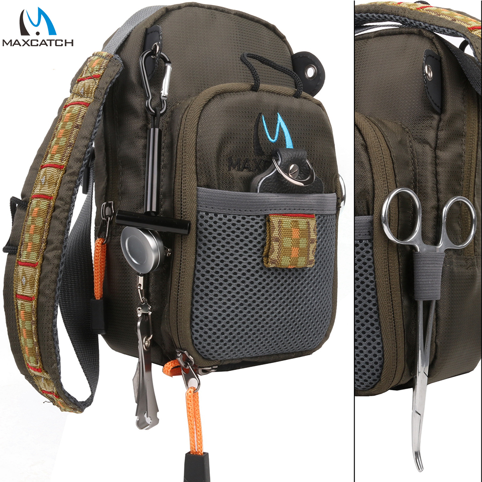 Maximumcatch Fly Fishing Bag Fishing Chest Pack Fishing Backpack With Fishing Tool Accessorybag fishingfly accessoriestool fly -