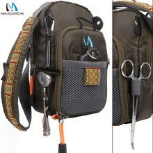 Maximumcatch Fly Fishing Bag Fishing Chest Pack Fishing Backpack With Fishing Tool Accessory