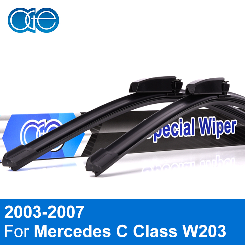 Oge Wiper Blades For Mercedes C Class W203 2003 2004 2005 2006 2007 High Quality Rubber Windshield Car Accessories