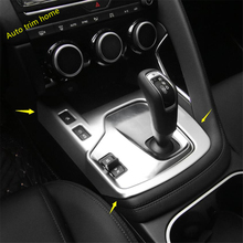 Lapetus Stalls Gear Shift Gearshift Box Panel Cover Trim 1 Pcs ABS Fit For Jaguar E-pace E pace 2018 2019 цена