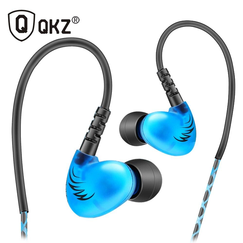QKZ S6 Sports Headphones Mobile Phone Eas