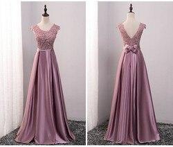 Sexy ver através de vestido de dama de honra tamanhos grandes a linha chão-comprimento longo formal vestido de dama de honra preço promocional sw001
