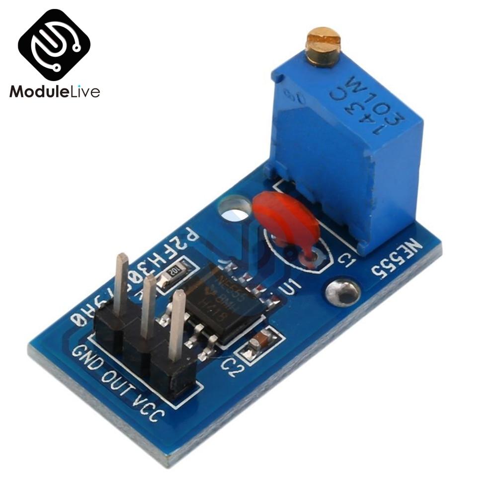 1 Stücke Ne555 Einstellbare Resistnce Frequenz Puls Generator Modul Für Arduino Smart Auto 5 V-12 V 1-ch 1 Kanal Ausgang Modul