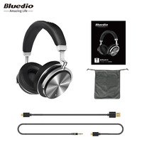 Columns Bluetooth Speakers Bluedio T4S BT4 2 Active Noise Cancelling Wireless Bluetooth Headphones Wireless Headset With