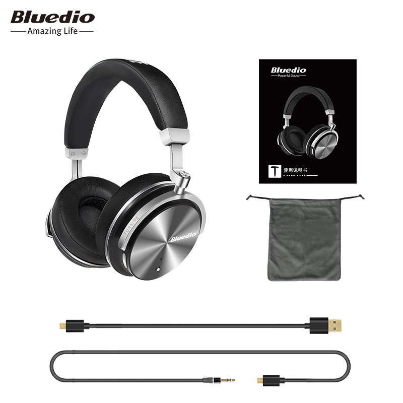 columns bluetooth speakers Bluedio T4S BT4.2 Active Noise Cancelling Wireless Bluetooth Headphones wireless Headset with music bluedio a2 bluetooth headphones headset fashionable wireless headphones for phones and music