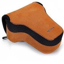 Neoprene Camera Case Cover Bag for Sony Alpha A9 A7R A7 Mark III II A7M2 A7M3 A7RM2 A7RM3 Camera with 24 70mm or 28 70mm Lens