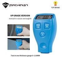 Digital Car Paint Coating Thickness Gauge Detection Meter Automotive Diagnostic Tool Auto Paniting Thickness Meter Detector blue